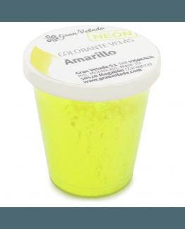 Corante velas neon pigmento amarelo
