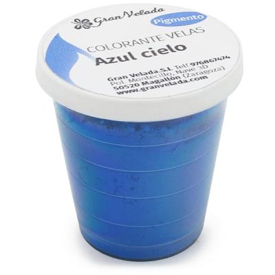Corante para fazer velas pigmento azul ceu