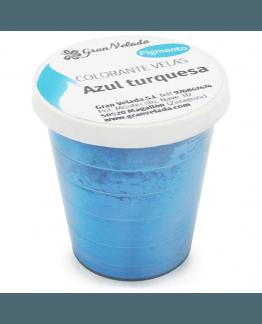 Corante para velas pigmento turquesa