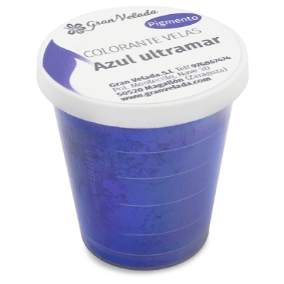 Corante para velas pigmento azul ultramar