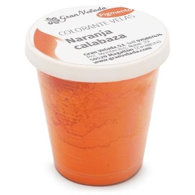 Colorante velas naranja calabaza pigmento