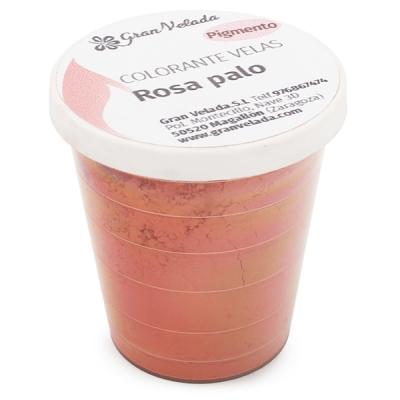 Colorante velas rosa palo pigmento