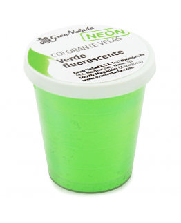 Colorante velas verde neon pigmento