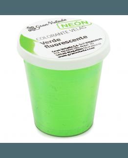Corante de velas neon pigmento verde