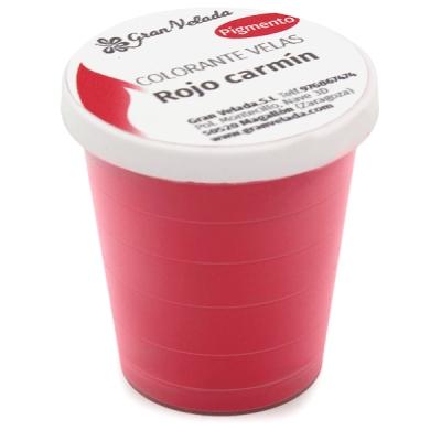 Colorante velas rojo carmin pigmento