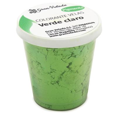 Corante para velas pigmento verde claro