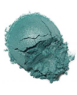 Mica cosmetica verde agua