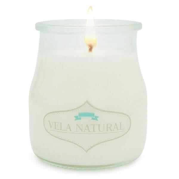 "Packaging Velas, Etiquetas ""Vela Natural"""