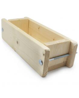 Molde de madeira para sabão