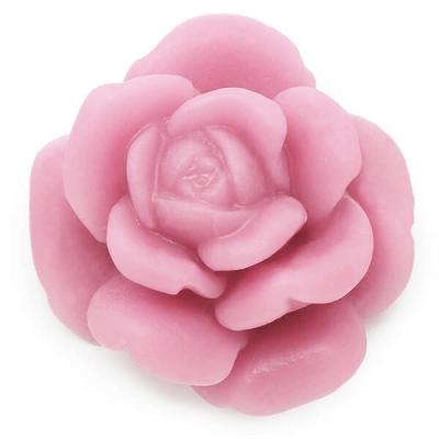 Molde para fazer sabonetes rosa mediana