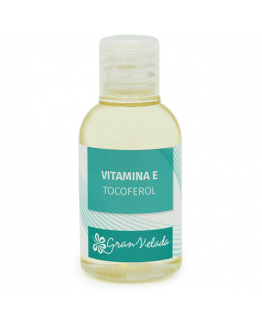 Vitamina E, tocoferol natural