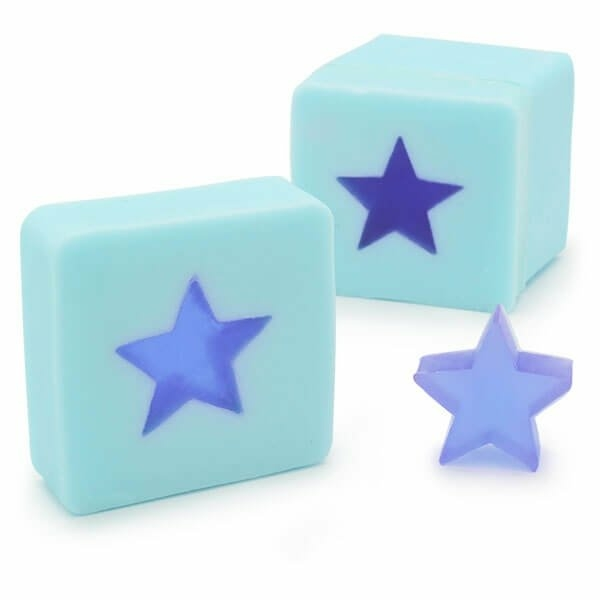 Kit como fazer sabonetes inclusao estrela. Materiais e instruçoes