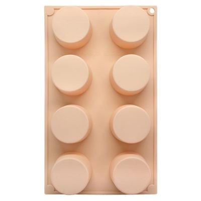 Molde 8 pastilhas circulares