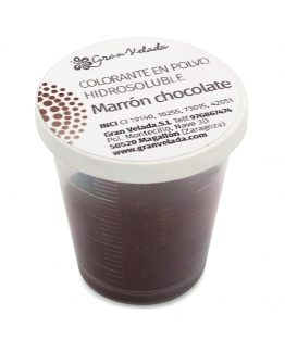 Colorante marron chocolate