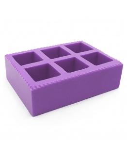 Molde silicone 6 cubos