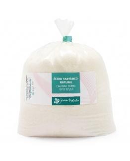 Ácido Tartárico Natural (em Pó). Qualidade Farma BP/EP/USP