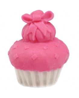 Molde para hacer jabón Cupcake con Lazo