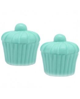 Molde para fazer sabonete Cupcake com guinja (guinda)