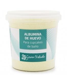 Albumina em Pó para fazer frosting de cupcakes de banho.