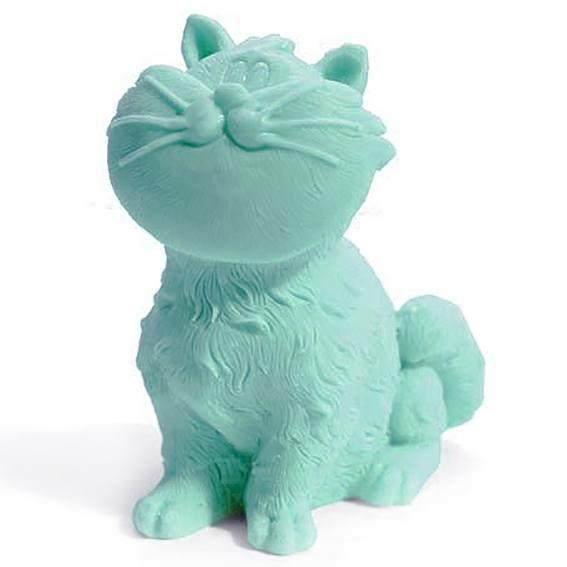 Molde gato con bigotes
