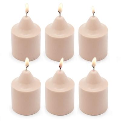 Molde para fazer 6 velas pequenas