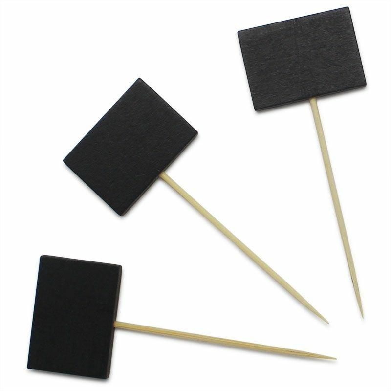 Quadro-negro míni retangular com espeto