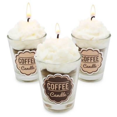 Adesivos Coffee Candle