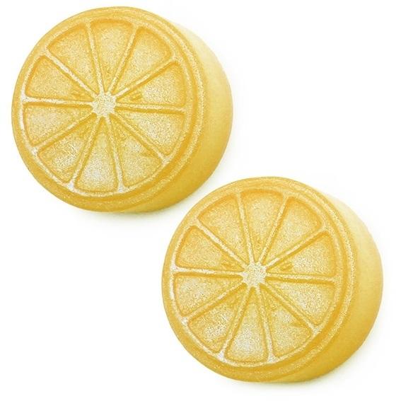 Forma para sabonete rodelas de laranja