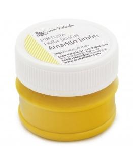 Pintura jabones amarillo limon