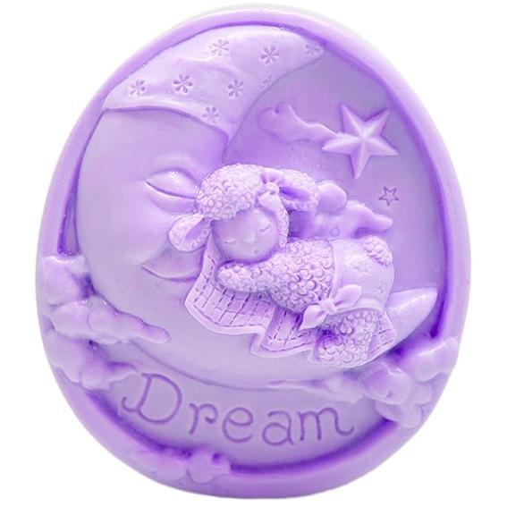 Molde infantil para sabonetes doces sonhos