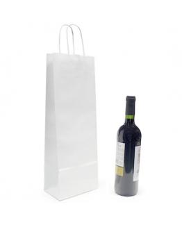 Bolsa barata para botella de vino Blanca