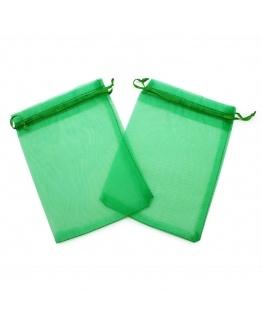 Saquinhos de organza tons verdes
