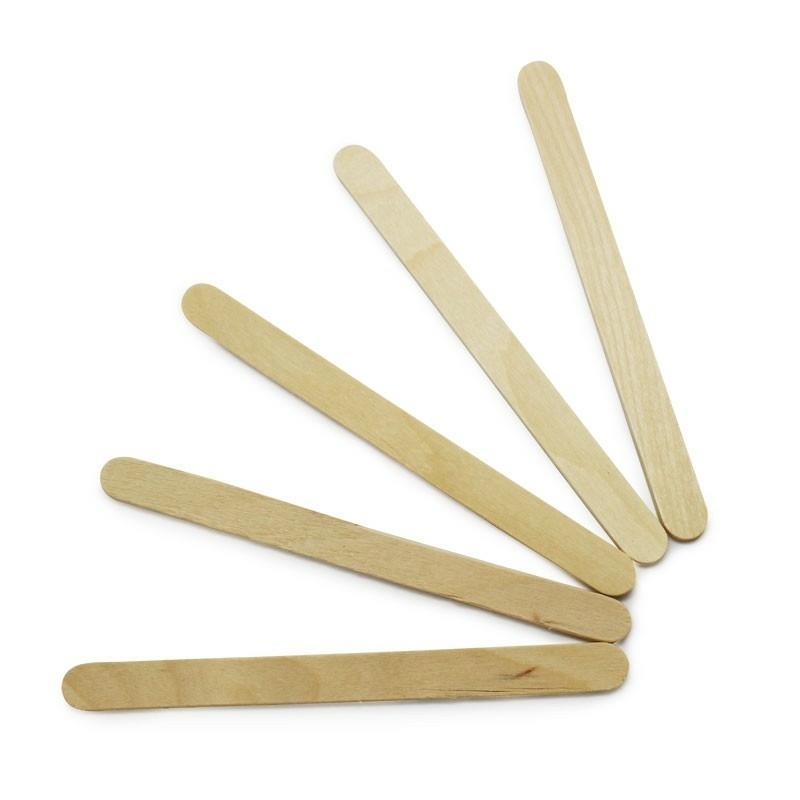 Palitos de picole de madeira