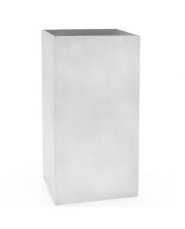 Molde velas rectangular metalico