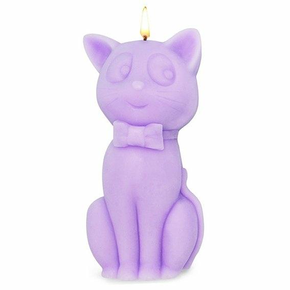 Molde de silicona gato