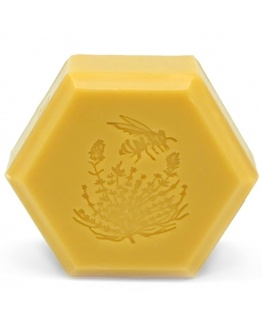 Molde sabonete mel de abelhas hexagonal
