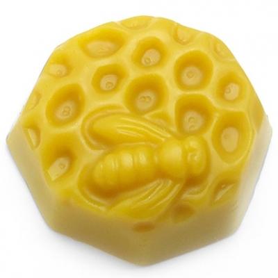 Molde panal de miel con abejita 2D