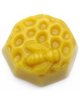 Molde favo de mel com abelha em 2D