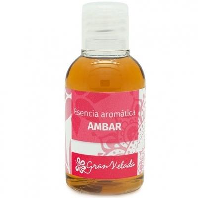 Essencia aromatica de ambar