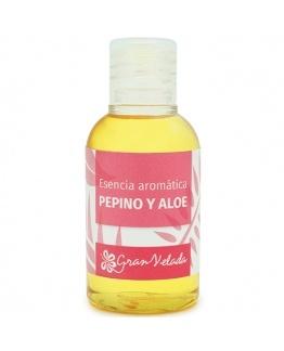 Aroma fresco de pepino e aloe