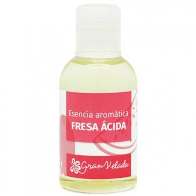 Esencia de fresa acida o chuche
