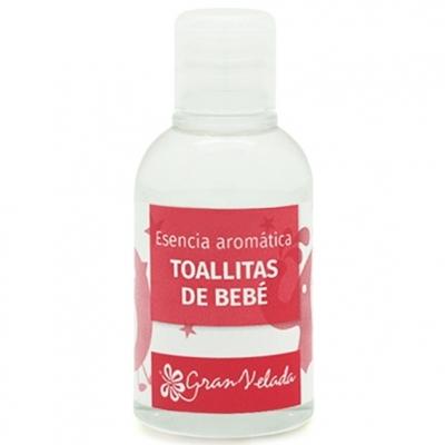 Esencia aromatica toallitas de bebe