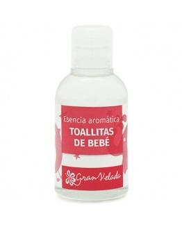 Essencia aromatica toalhetes de bebe