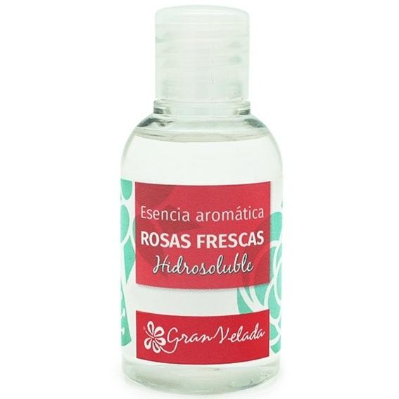 Esencia hidrosoluble de rosas frescas