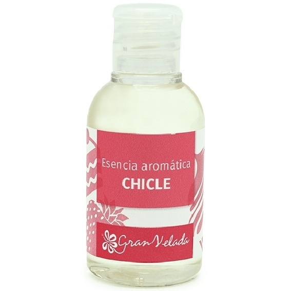 Essencia aromatica de chiclete