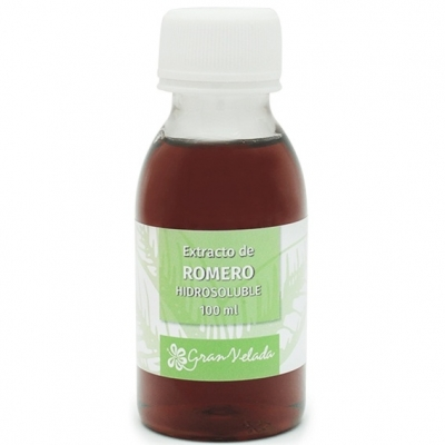 Extracto de romero hidrosoluble