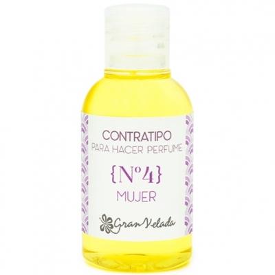 Contratipo de mulher N4 para perfume