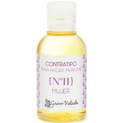 Contratipo feminino Nº11 Essência de Perfume