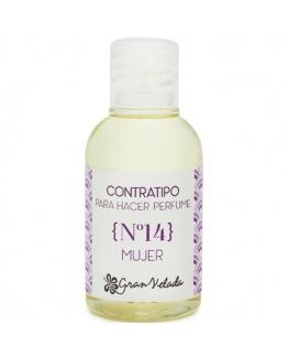 Contratipo de mulher Nº14 Essência de Perfume