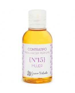 Contratipo Mujer 15 Esencia de Perfume